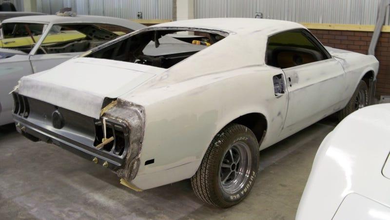 Miracle Mustang a Five Hanky Resto Job