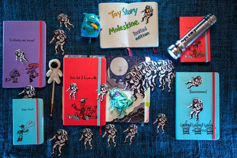 Toy Story Moleskines Are a Convincing Reason to Switch Back to Pen and Paper