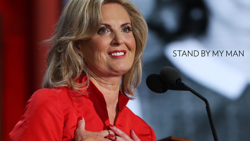 Ann Romney Promises Mitt Will Love America Like a Smitten Teen at a High School Dance