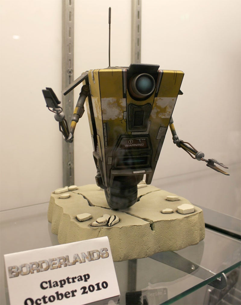 Borderlands' Claptrap Toy Is So Good We Won't Call It Cel-Shaded