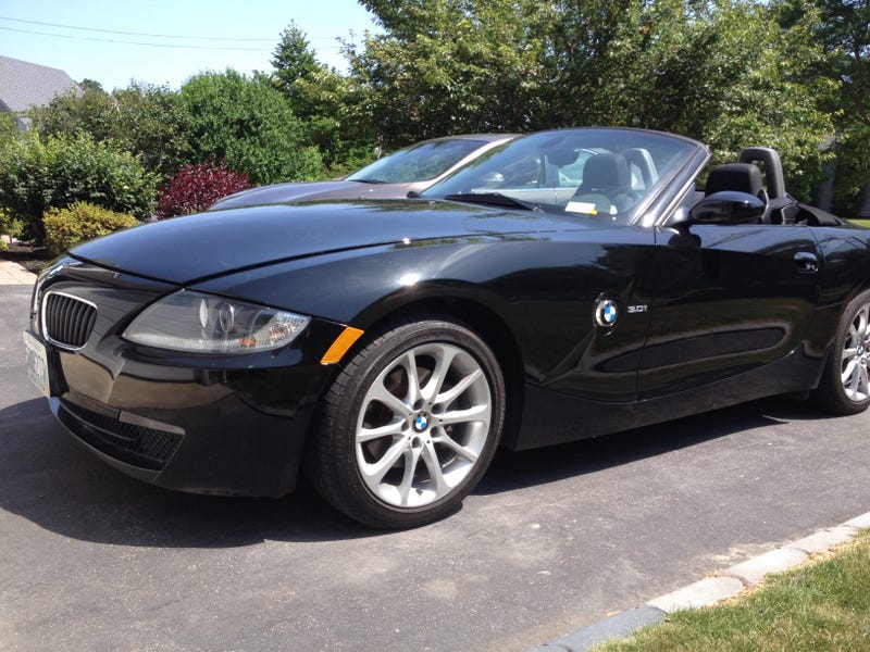 Took dads Z4 for a drive