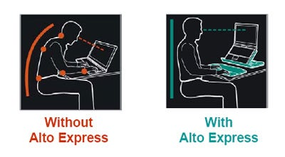 Alto Express and Connect: Two Very Different Laptop Stands From Logitech