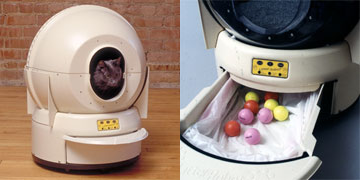 The Litter Robot Turns Cat Litter Into Easter Eggs