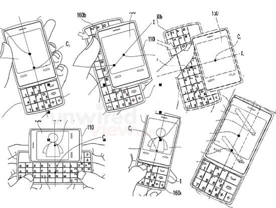 HTC's Patent Shows New Type of QWERTY Slider