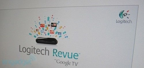 Logitech's Google TV Box Finally Gets A Real Name: Revue With Google TV
