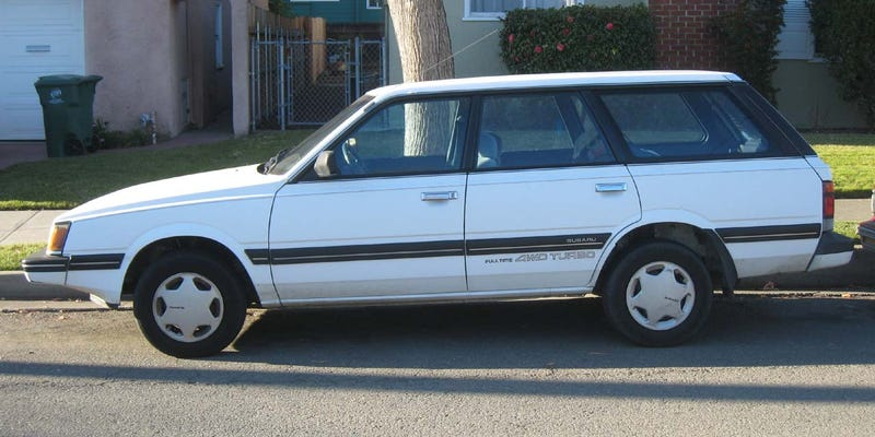1989 Subaru GL AWD Turbo Wagon