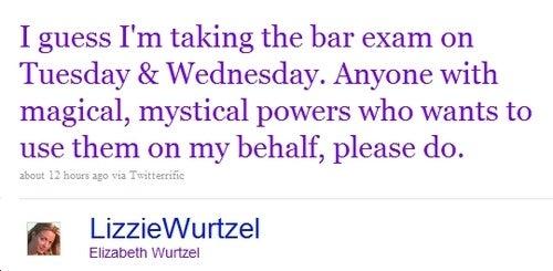 Everyone Pray For Elizabeth Wurtzel to Pass the Bar Exam