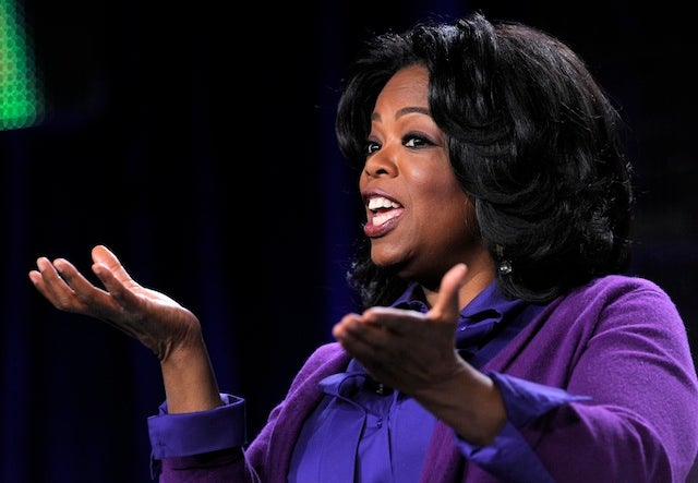 Oprah's Confusing Filibuster...Confuses