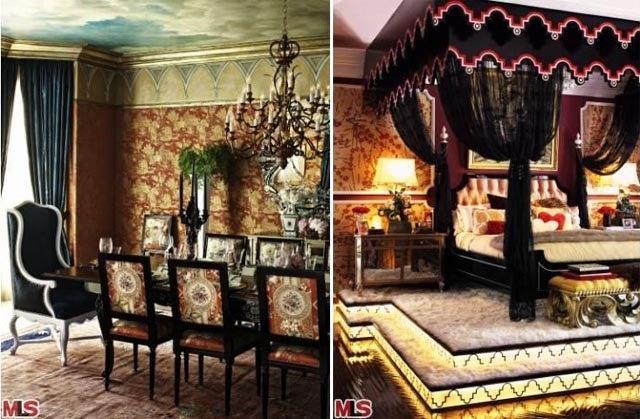 "Take A Peek Inside Christina Aguilera's ""Burlesque"" Mansion"