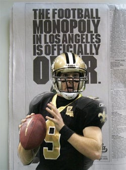 Get Ready For The Los Angeles Saints In 2009...Maybe?