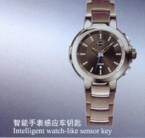 Chinese Automaker Reveals Keyless Entry Wristwatch For When It's Time To Drive