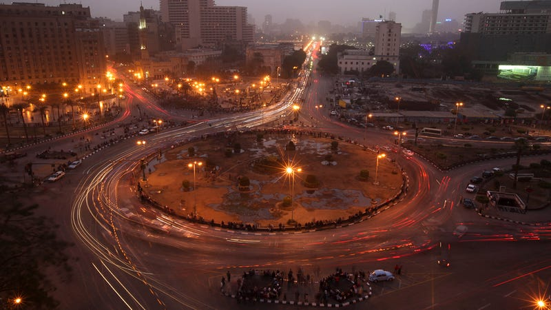 How urban planning accidentally created the perfect space for protest in Egypt's Tahrir Square