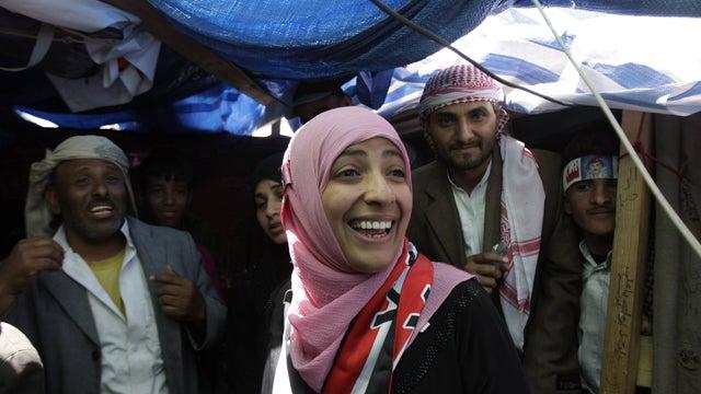 Women In Yemen Severely Injured While Celebrating Peace Prize Winner