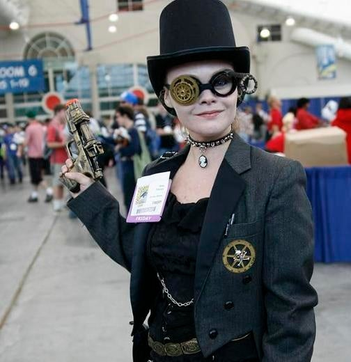 The Steampunk Convention Where You Can't Buy Books