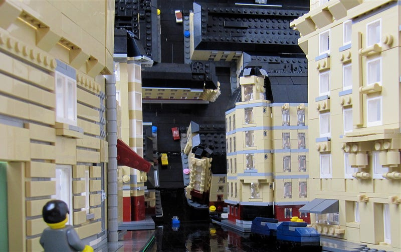The Lego Inception Brickbending Photo Trick
