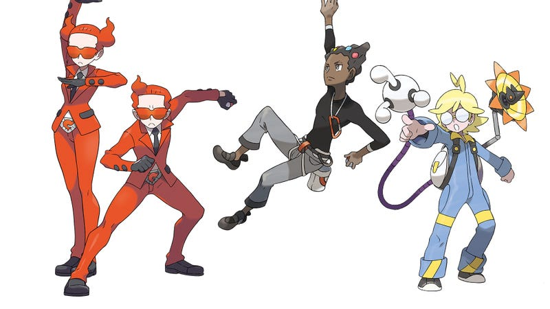 Professor Sycamore Introduces Five New Pokemon And More For X And Y