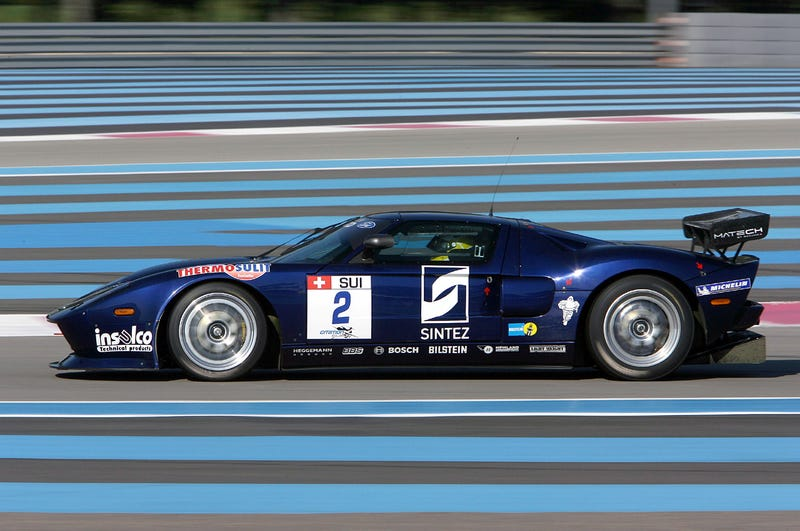 2009 FIA GT Racers Trot Out For Spring Testing In France