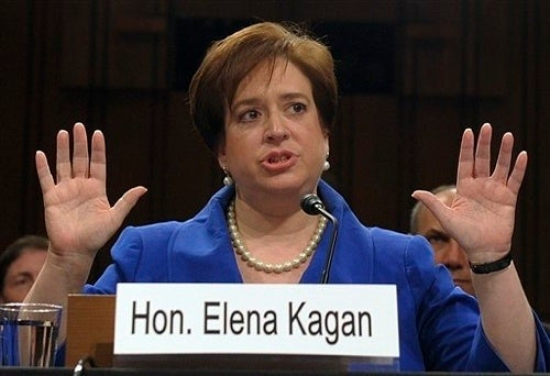 Senators Trash Thurgood Marshall on Elena Kagan's First Day