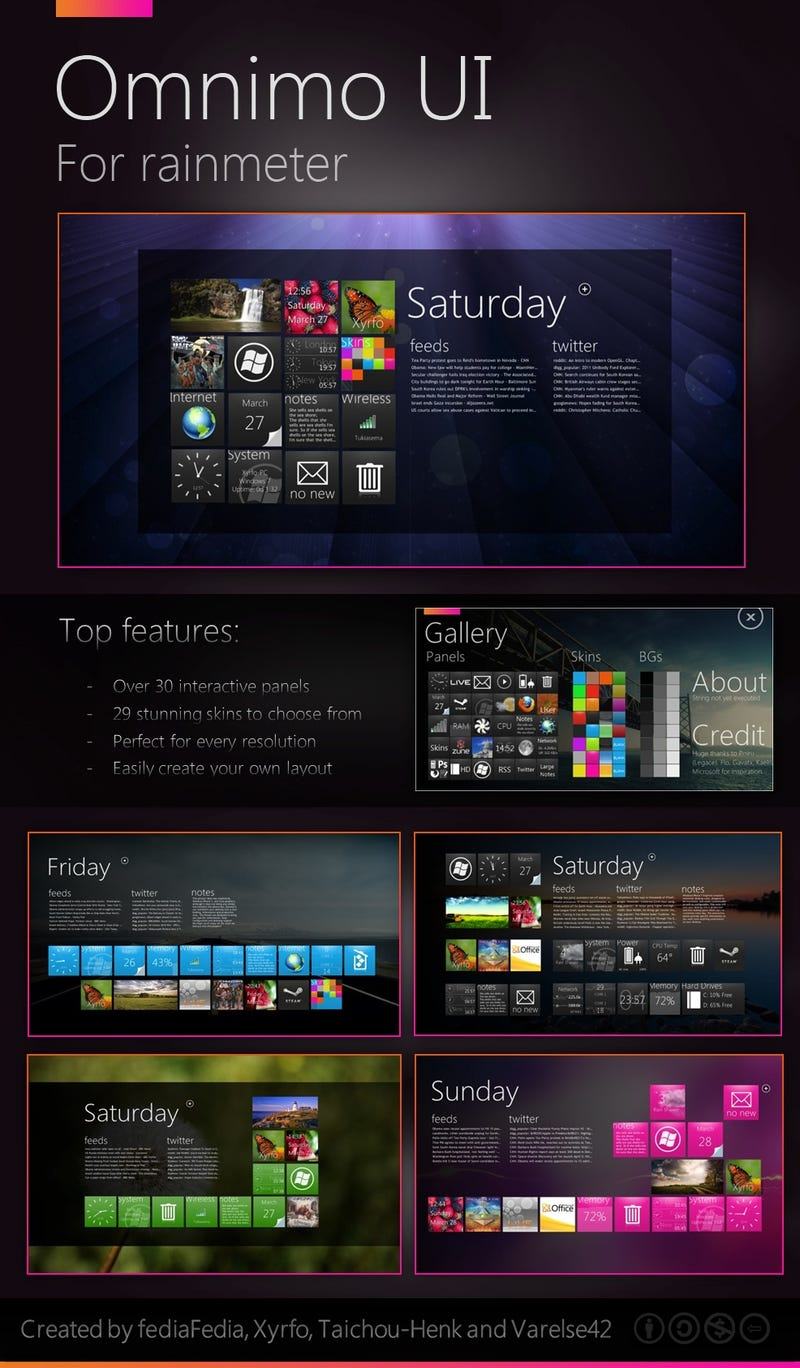How to Transform Your Windows Desktop with an Amazing Windows Phone 7-Style HUD
