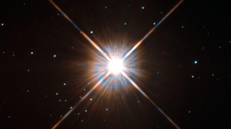 Our nearest stellar neighbor like you've never seen it before