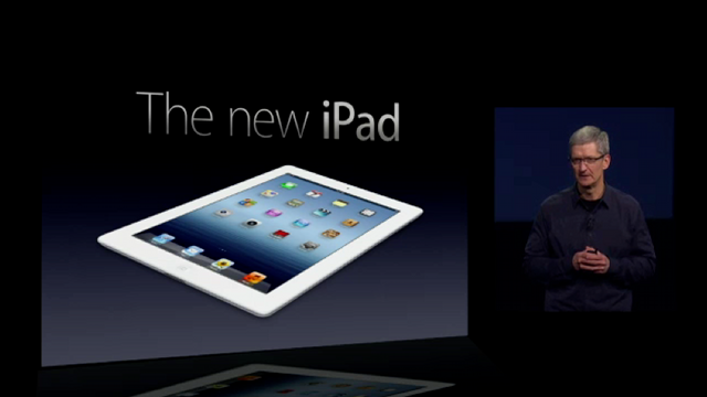 Watch the Entire Apple iPad Keynote Now