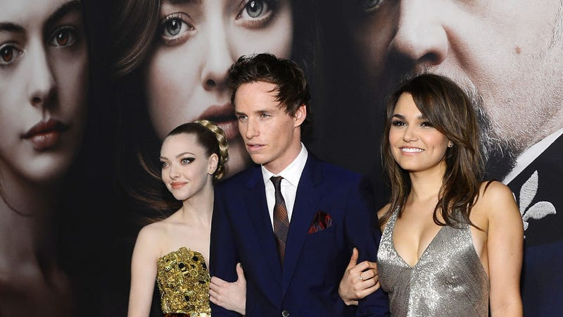 Eddie Redmayne Could Not Be More Attractive at Tonight's New York Premiere of Les Misérables