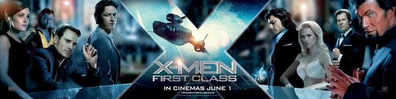 French X-Men: First Class Poster