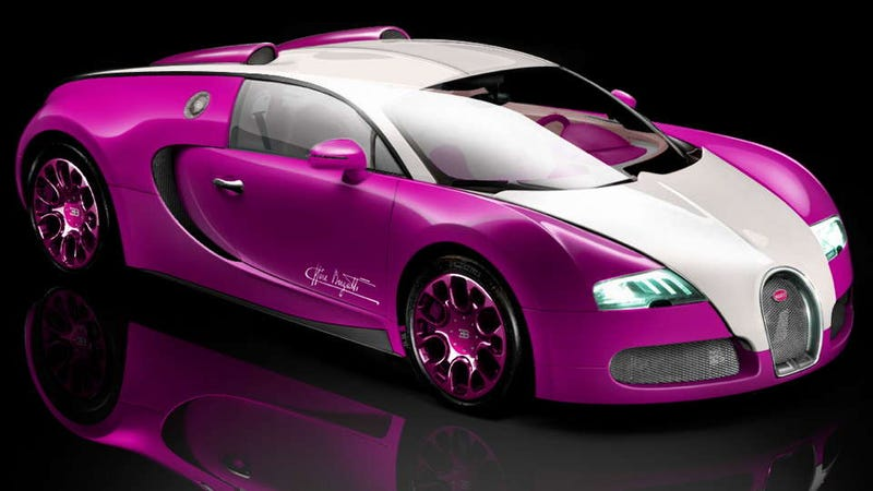 British reality-show celeb orders Barbie's Bugatti