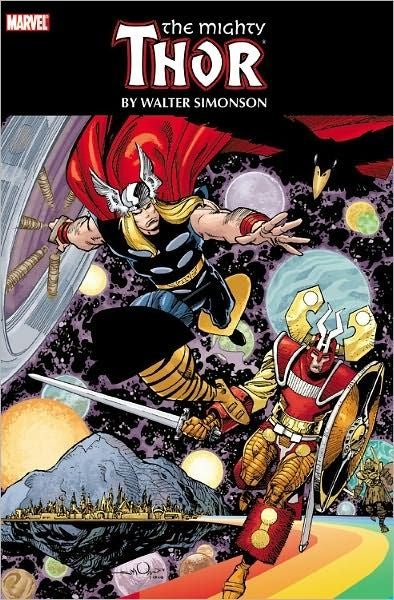"""Let's review Walt Simonson's Thor omnibus (a.k.a. """"Why the @#$! does Odin need safety goggles?"""")"""