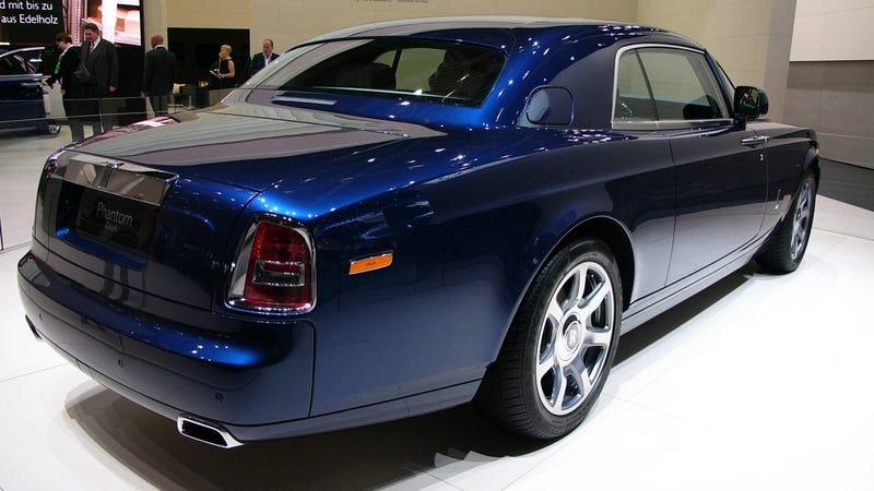Rolls-Royce Phantom Coupé (Rowan Atkinson movie car)