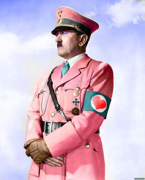 Hitler's Springtime Colors