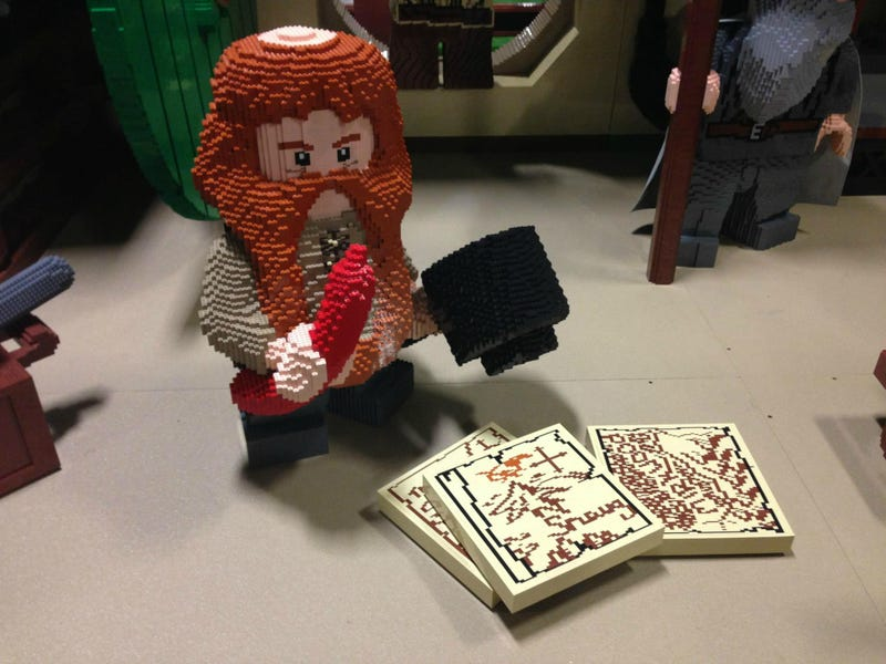 There'll Always Be A Giant Baggins Under A Giant LEGO Bag End