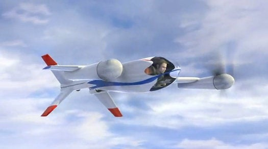 NASA's Puffin Is a Stealthy, Personal Tilt-Rotor Aircraft