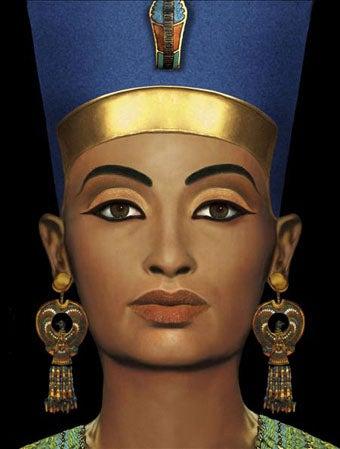 """""""Inner Statue"""" Discovered Under Nefertiti's Bust"""