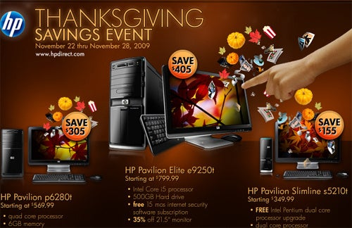 HP Black Friday Flyer Feels Lacking on Deals