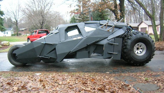 Ten Fictional Vehicles Come To Life