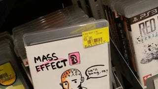 Maybe This Hand-Drawn <i>Mass Effect 3</i> Box Art Is The Best One
