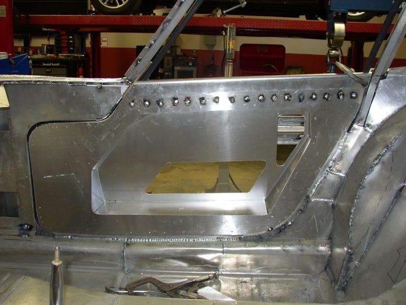 Aluminum Magician Makes Beautiful Toyota 2000GT Body