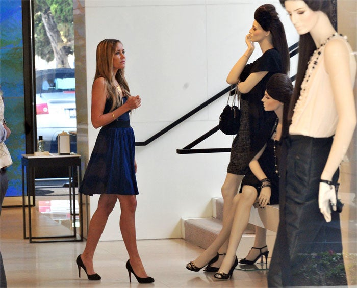 Lauren Conrad: Model Moment