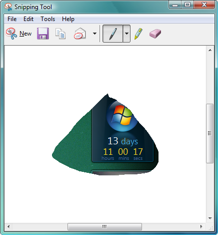 Windows Vista Tip: Take screenshots with the Snipping Tool