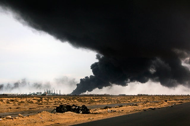 Libyan Rebels Lose Ground as West Mulls Intervention