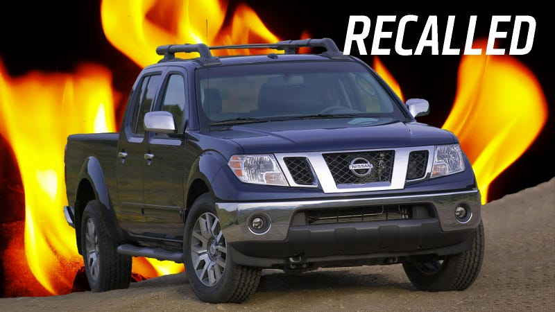 Nissan Frontiers Recalled Over Circuits Installed Backwards