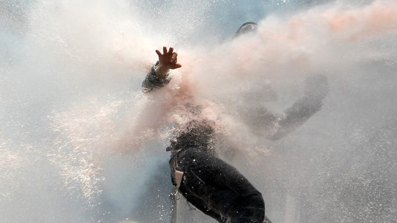 Turkish Police, Armed with Tear Gas, Return to Taksim Square