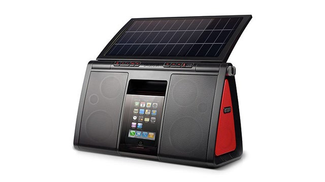 Eton Soulra XL: The iPod Speaker Dock for Sun-Worshipping Audiophiles