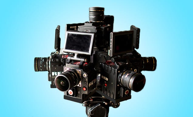 The Insane Camera Rig Being