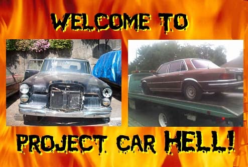 Project Car Hell, Bruiser Benz Edition: 600 SWB or 450SEL 6.9?