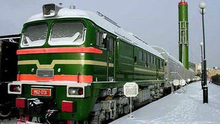 Russia's Terrifying 'Nuke Trains' Wi