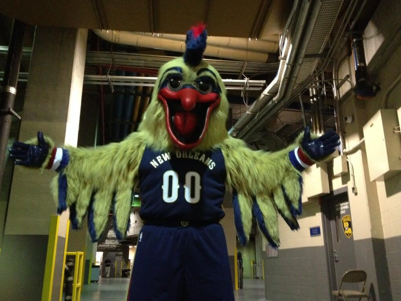 Terrifying New Basketball Mascot Is Here to Haunt Your Dreams