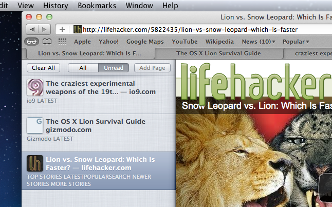 This Is What You'll Find In Mac OS 10.7 Lion