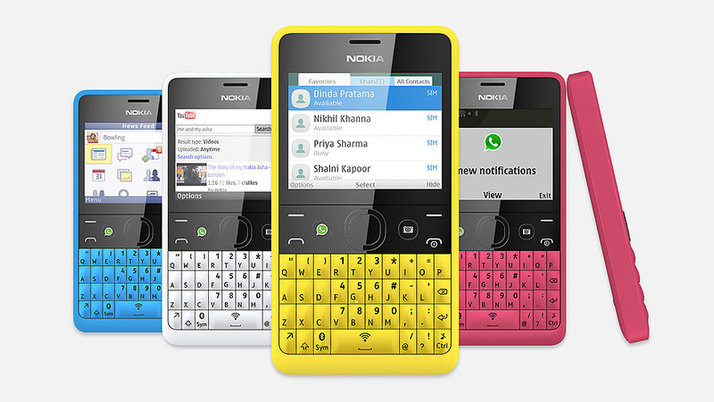 Nokia's Asha 210 Is a Social QWERTY Phone Two Years Late